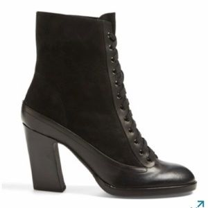 rag & bone Shoes - RAG & BONE | Leather & Suede Lace-up Boot